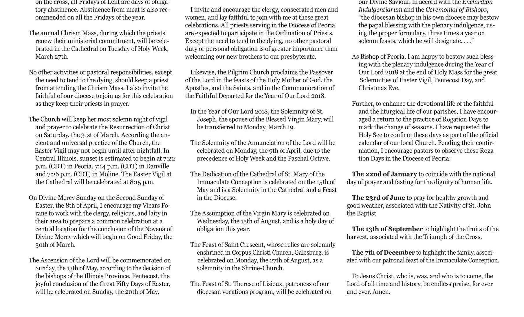 Page B4 - Catholic Post 12 03 2017 E Edition